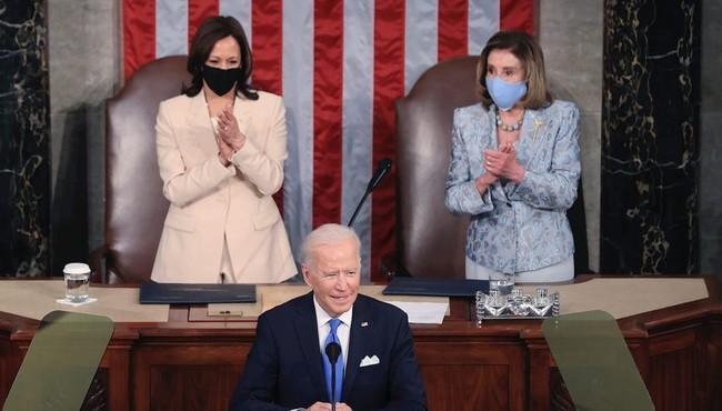 Tổng thống Biden lần đầu phát biểu trước Quốc hội Mỹ như nào?