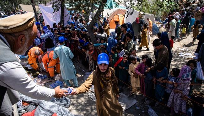 Cám cảnh cuộc sống người dân Afghanistan chạy loạn