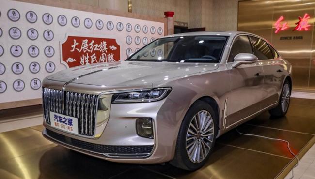 Xe sang Hồng Kỳ H9 động cơ 2.5L giá từ 1,5 tỷ đồng