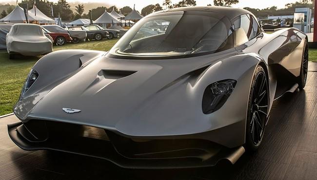 Aston Martin Valhalla siêu mượt giá từ 19,9 tỷ đồng tại Đông Nam Á
