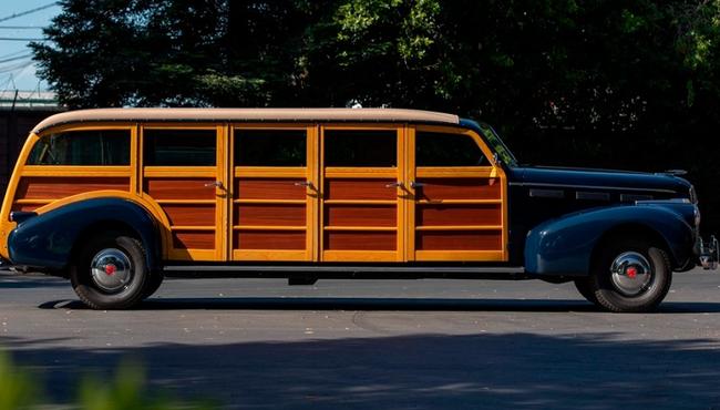 Độc đáo LaSalle Meteor 1940 - limousine 8 vỏ gỗ đặc biệt