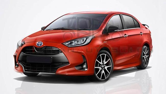 Sedan giá rẻ Toyota Belta 2022 sẽ thay thế Vios?