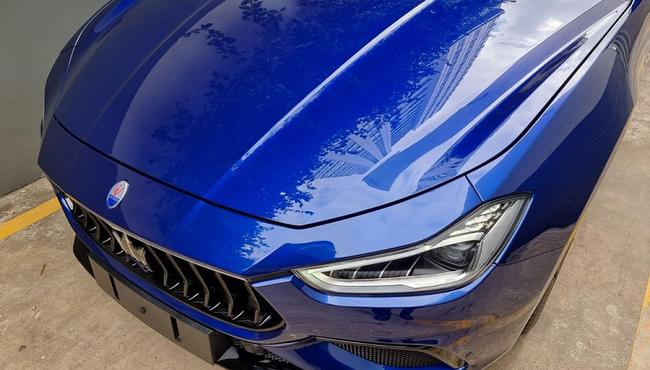 Ngắm Maserati Ghibli Hybrid phiên bản mới, gần 6 tỷ đồng ở Việt Nam