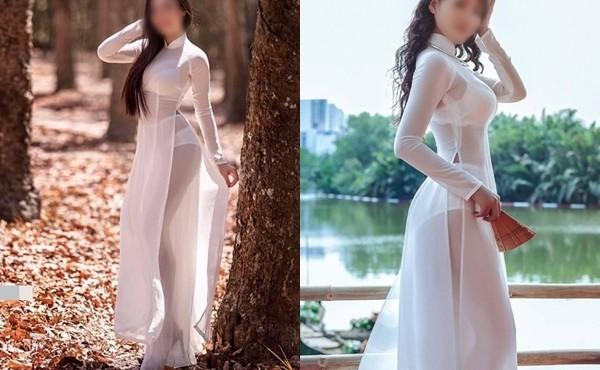 Những lần nữ sinh Việt diện áo dài phản cảm gây phẫn nộ