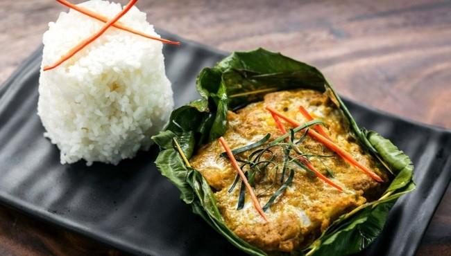 Đặc sản cá hấp Amok cực ngon của Campuchia