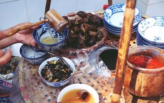 Món bún ốc nguội bình dị của người Hà Nội xưa