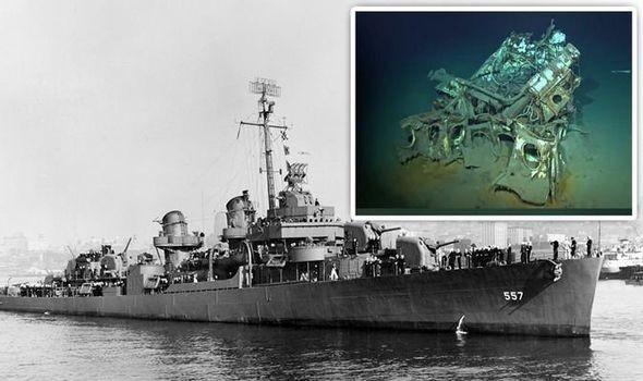 Xác tàu Hải quân Mỹ bị đắm ở độ sâu hơn 6km trông như thế nào?