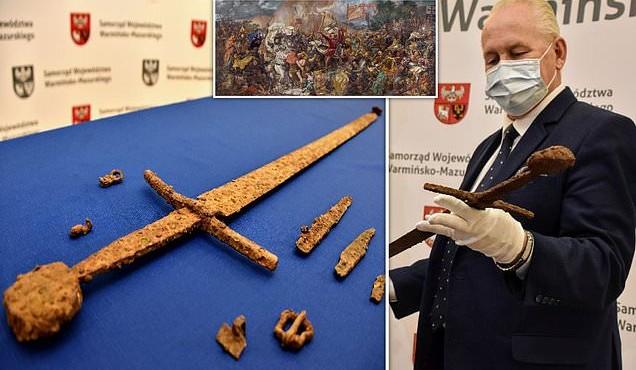 Bí ẩn thanh kiếm cổ hơn 600 tuổi tìm thấy ở Ba Lan