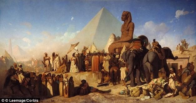Giới học giả đau đầu vụ 50.000 quân mất tích vào năm 524 trước Công nguyên