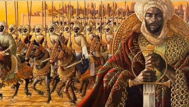 Vị vua đăc biệt của đế chế Mali vừa hành hương vừa phát vàng