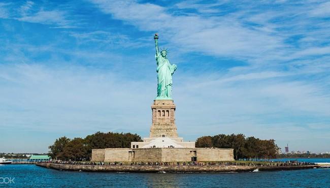 Bí mật giấu kín về quá trình dựng tượng Nữ thần Tự do đầy thú vị