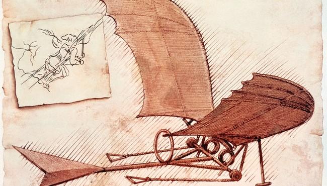 Nhìn lại những sáng chế đi trước thời đại của Leonardo da Vinci