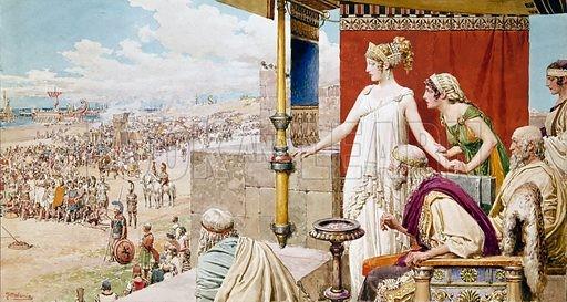 'Tam giác' tình yêu đã gây nên cuộc chiến thành Troy như nào?
