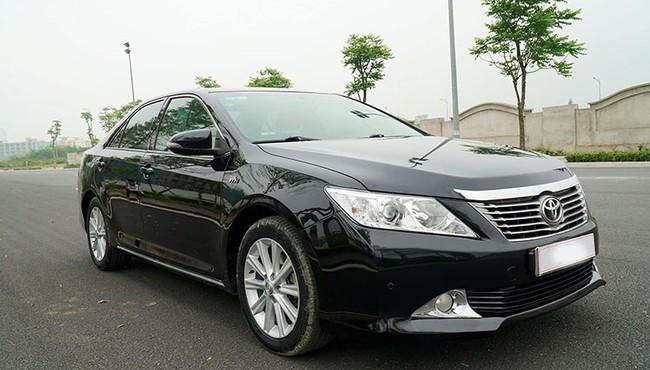 Cận cảnh Toyota Camry 2014x bán hơn 600 triệu ở Hà Nội