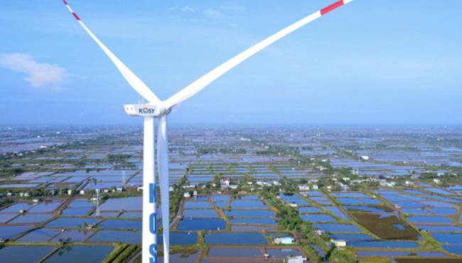 KOS tăng vốn thêm 1.000 tỷ đồng hoán đổi cho 2 công ty điện gió