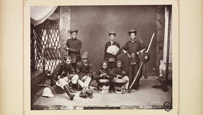 Thú vị chân dung người Việt 100 năm trước qua ống kính Tây