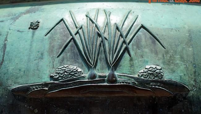 Biết gì về những loại rau củ được khắc trên Cửu Đỉnh nhà Nguyễn