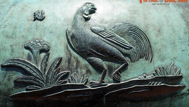 Biết gì về 9 loài chim được khắc trên Cửu Đỉnh nhà Nguyễn?