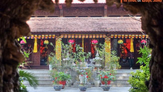 Ngắm chùa Phổ Giác có cổng tam quan đặc biệt nhất Hà Nội