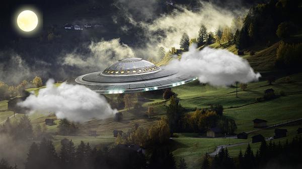 Những địa điểm UFO đổ bộ khi đến Trái đất