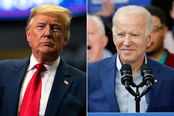 Ong Trump - Biden o dau trong ngay bau cu Tong thong My 2020?