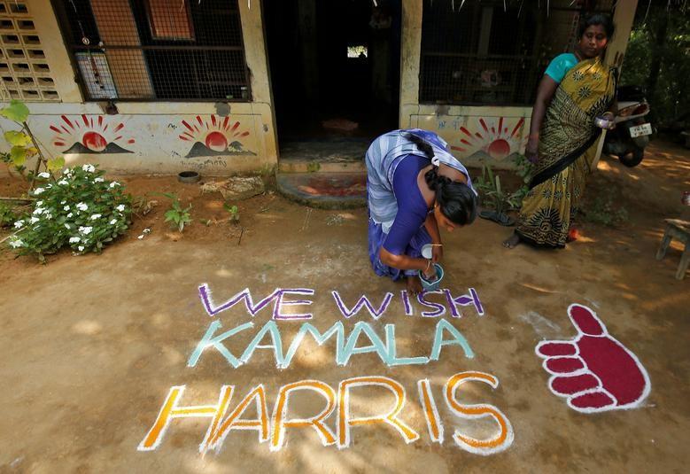 Ca lang An Do dac biet an mung chien thang cua ba Kamala Harris-Hinh-4