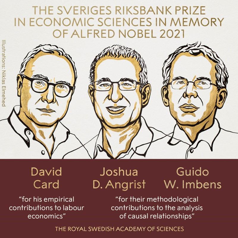 Di san cua 3 nguoi My doat giai Nobel Kinh te 2021-Hinh-2
