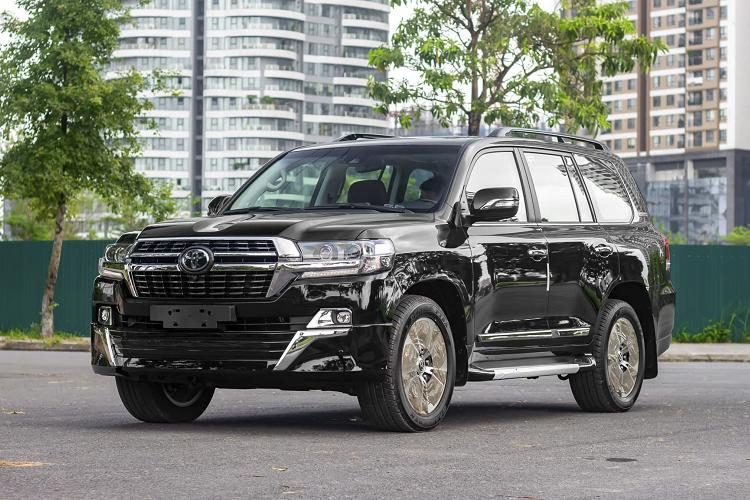 Ngam Toyota Land Cruiser 2021 may dau hon 6 ty tai Viet Nam