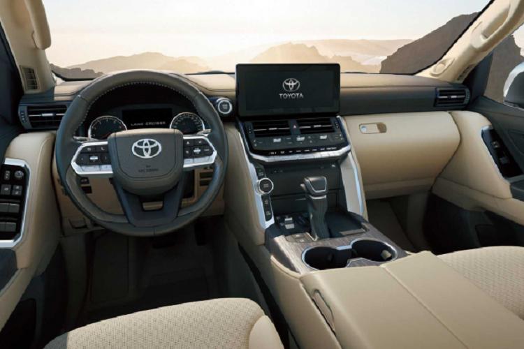 Chi tiet Toyota Land Cruiser 2022 sap ve Viet Nam-Hinh-8