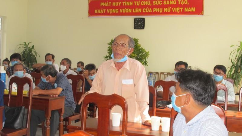 Hinh anh ngay dau tiep xuc cu tri cua ung vien DBQH - Chu tich VUSTA Phan Xuan Dung-Hinh-4