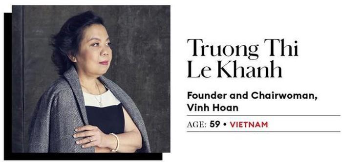 Vinh Hoan lam an ra sao duoi su dieu hanh cua 'nu doanh nhan quyen luc' Le Khanh?