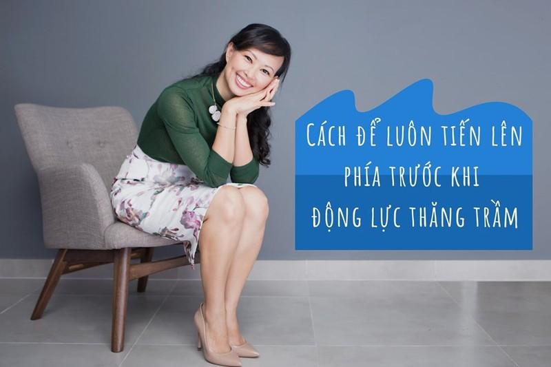 Shark Linh: Lam sao de tien len phia truoc khi mat dong luc?