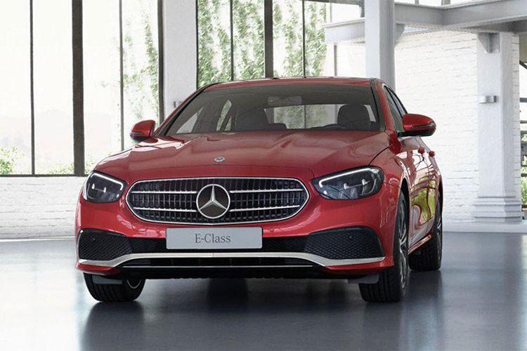Sieu xe Mercedes-Benz E180 2021 ra mat gia hon 2 ty dong