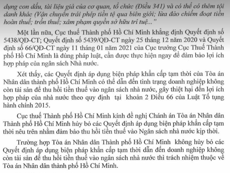 Cuc Thue TP HCM de nghi toa huy bo bien phap khan cap tam thoi de truy thu ThuDuc House 400 ty dong-Hinh-2
