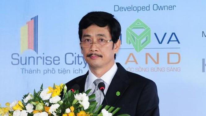 Chu tich Bui Thanh Nhon va nguoi than so huu gan 63% von Novaland