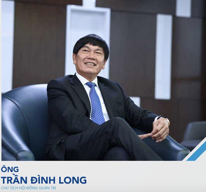 Ong Tran Dinh Long: HPG se khoi cong som du an Khu lien hop Hoa Phat Dung Quat 2