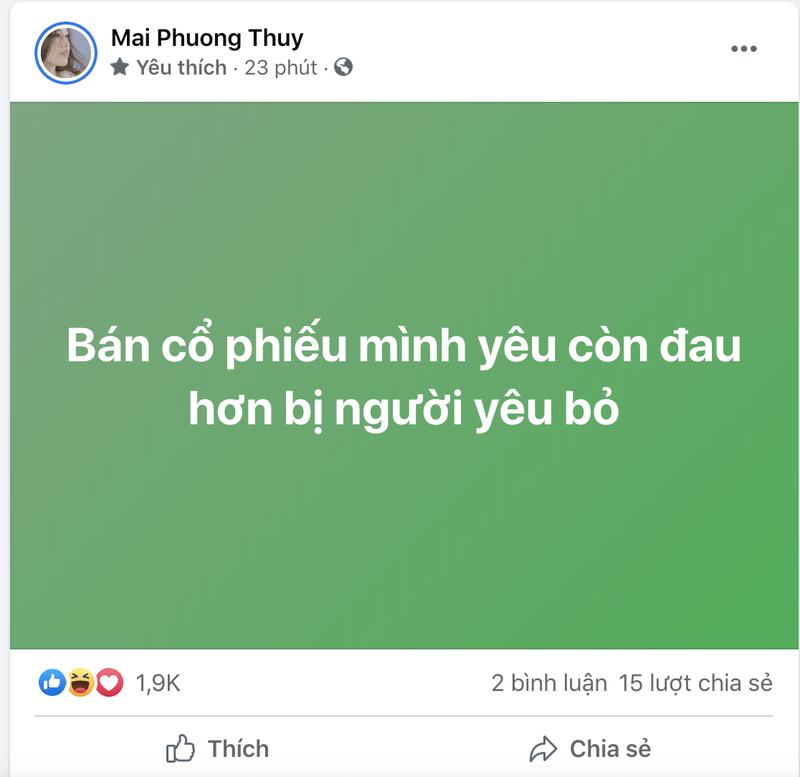 'Hoa hau chung khoan' Mai Phuong Thuy da ban HPG, VCB?