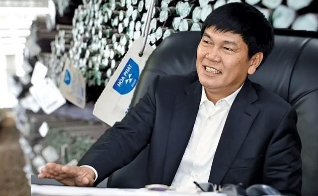 Gia dinh ong Tran Dinh Long sap nhan ve 580 ty va 405 trieu co phieu HPG tu co tuc