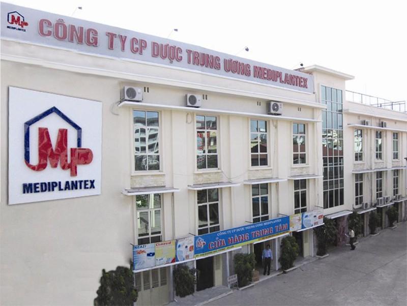 Duoc Trung Uong Mediplantex bi phat 300 trieu dong