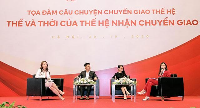 Con gai ong Vu Van Tien, Mai Huu Tin chia se chuyen ke nghiep gia dinh
