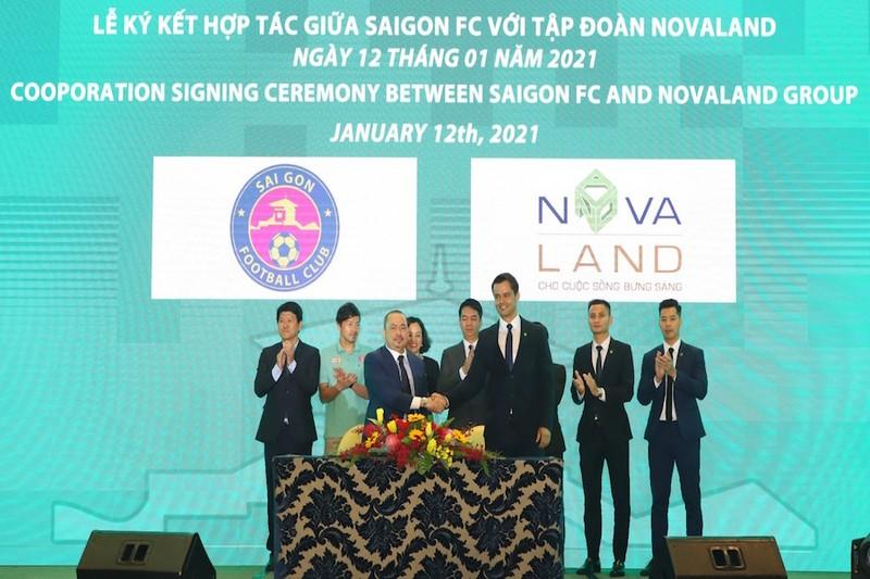 Novaland tai tro cho CLB Sai Gon FC