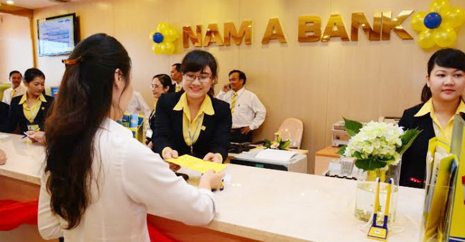 Ngan hang Nam A lai lon quy 3 nhung 9 thang van lao doc, no xau tang vot