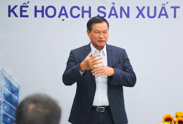 Ong Nguyen Ba Duong xuat hien tai SOL E&C voi muc tieu doanh thu 2.000 ty