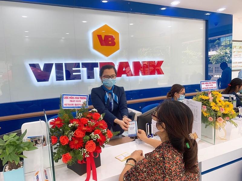 VietBank ngam ngui bao lai quy 1 suy giam, tin dung tang truong am