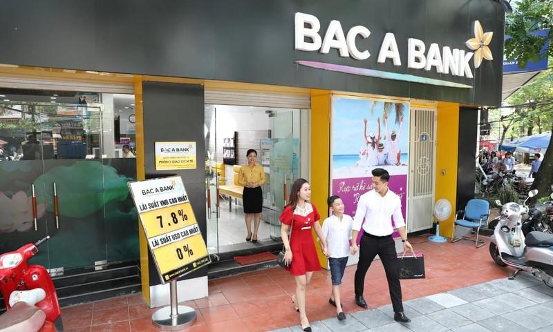 BacABank bao tin dung tang truong am, loi nhuan 6 thang van tang 23%