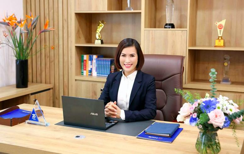 Chan dung Tan Chu tich NCB Bui Thi Thanh Huong