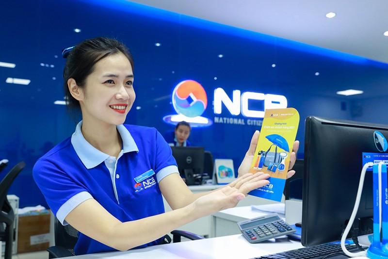 NCB tang vot trich lap du phong quy 3, tong tai san va tien gui sut giam