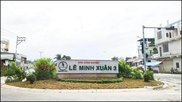 Nhieu khu cong nghiep tai TP HCM da hoat dong nhung van chua hoan thanh giai phong mat bang