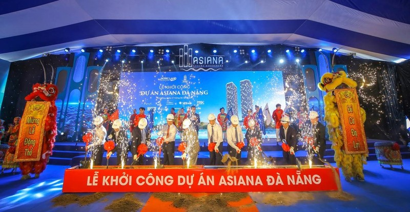Gotec Land chinh thuc khoi cong du an can ho cao cap Asiana Da Nang