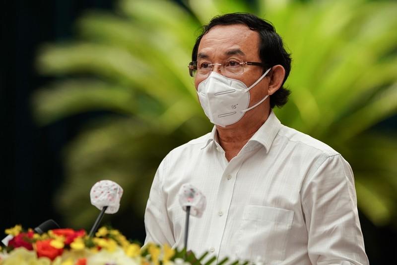 Bi thu TP HCM Nguyen Van Nen: Dai dich boc lo ro han che, yeu kem trong he thong